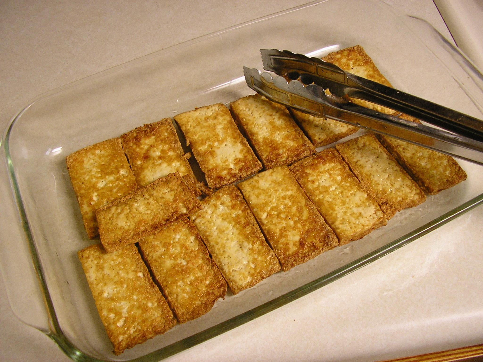 recipe: tahini baked tofu [22]